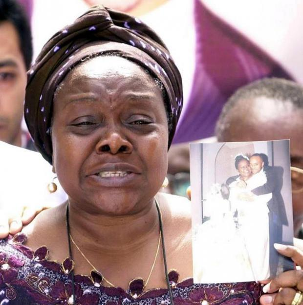 Marie Fatayi-Williams, whose son was killed in the July 7 bombings in 2005, and whose speech is one of those included in 21 Speeches That Shaped The World