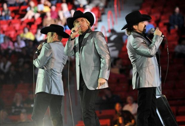 The Texas Tenors, who reached the final of America's Got Talent