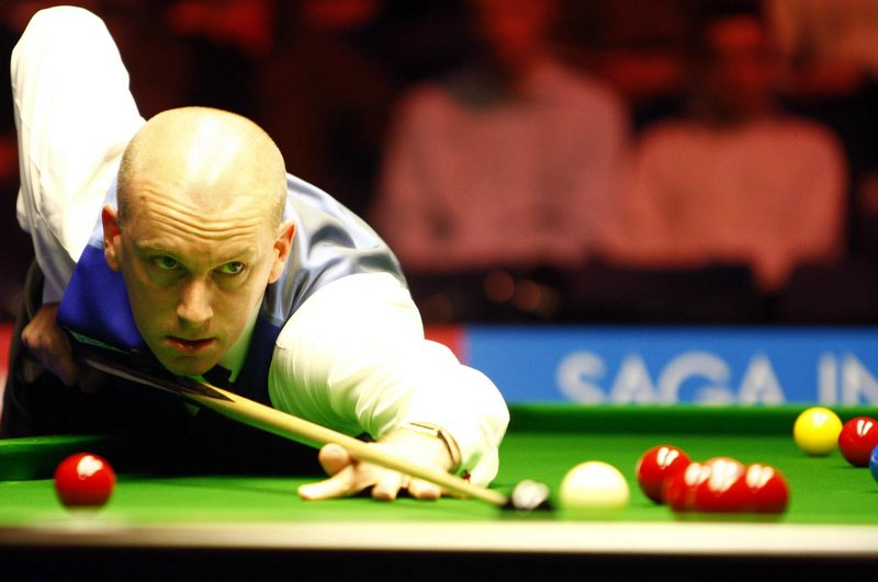 At 40, Peter Ebdon is the baby of the field for the World Seniors' Championship