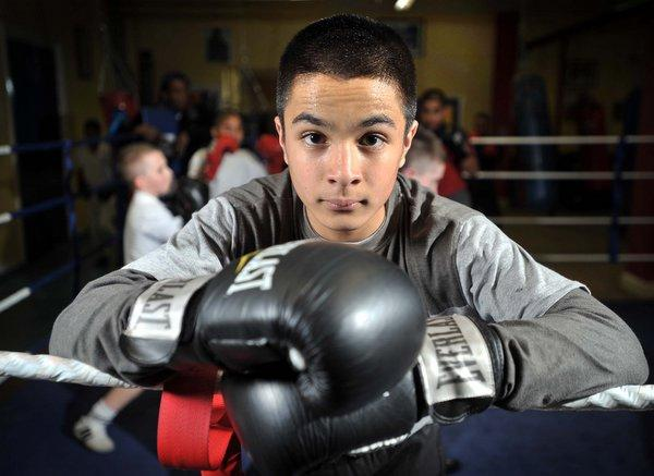 Harris Akhbar is feeling confident boxing in a lighter weight division than previously