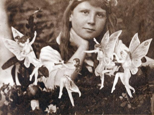 One of the Cottingley cousins with the fairies that fooled author Sir Arthur Conan Doyle