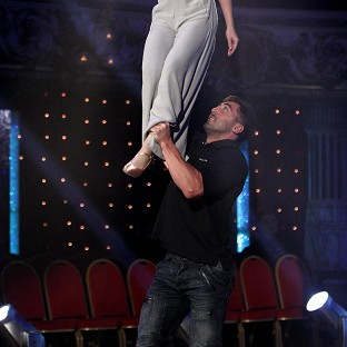 Gavin Henson managed to lift his Strictly partner Katya Virshilas during rehearsals