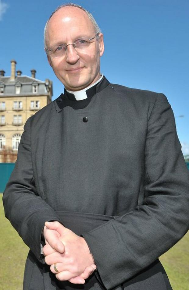 The Dean of Bradford Cathedral the Very Rev David Ison