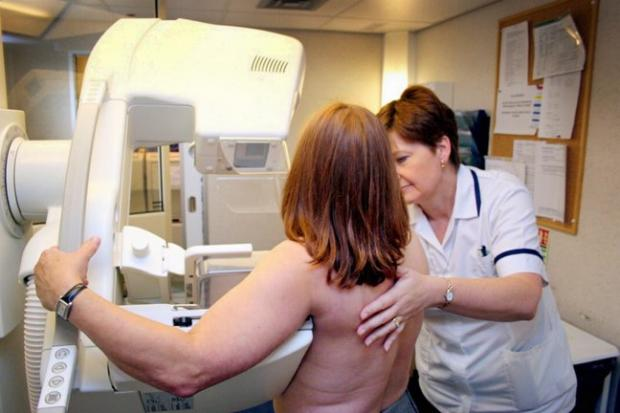 Women are putting their health at risk by missing vital screening appointments, such as the one pictured above