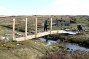 Walkers benefit from new Mossdale Beck bridge