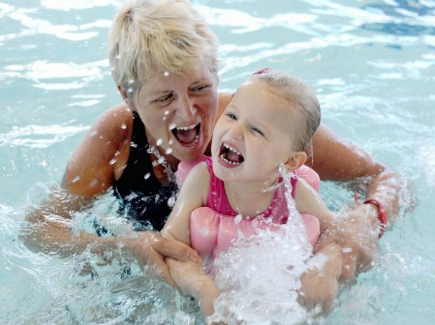 Bradford Tots Are In The Swim From Bradford Telegraph And Argus