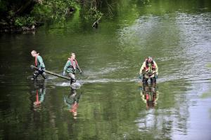 River Aire cleanup Shipley-Baildon