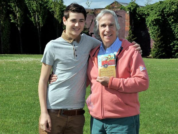 Henry Winkler with Ronan Carter