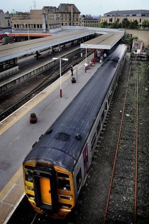 Services are disrupted at Bradford Interchange