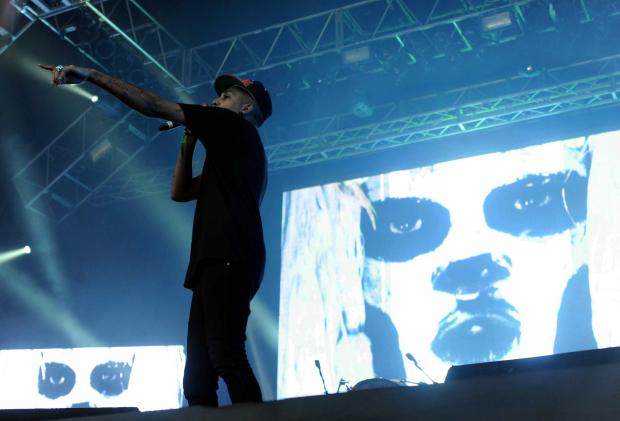 Chase and Status closing last night's Bingley Music Live festival