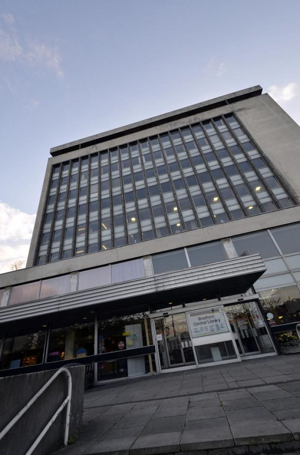 Bradford's Central Library which may be moved to new premises