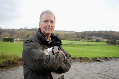 Micklethwaite campaigner Terry Brown at the site