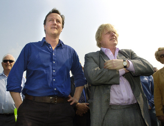 David Cameron and the Conservative Party are championing the idea of elected mayors – like London's Boris Johnson, pictured with the Prime Minister – taking charge of district councils across Britain