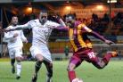 Kyel Reid is out to make it 15th time lucky for the Bantams at Roots Hall