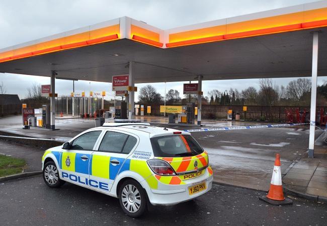 Raid On Shell Garage In Chellow Heights Bradford Telegraph