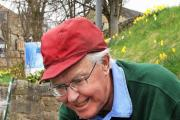 Addingham Garden Friends chairman Graham Bacon