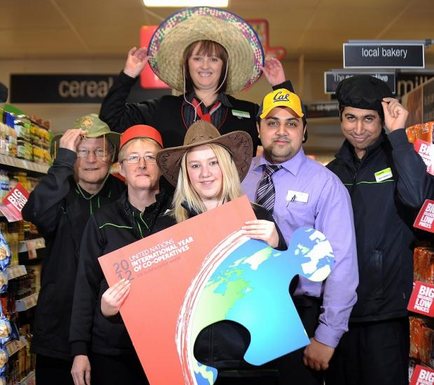 Staff at Alerton Co-op