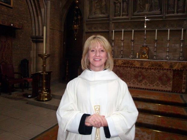 The Reverend Beverley Mason