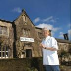 Michelin star chef Frances Atkins outside The Yorke Arms
