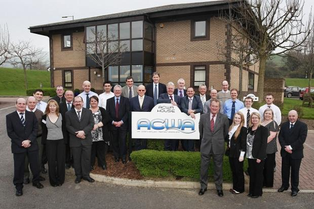 The staff at ACWA Services in Skipton