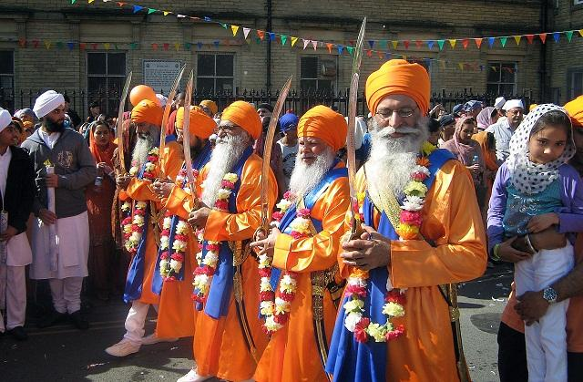 Last year's colourful procession through the city's streets to mark the annual Sikh celebration of Vaisakhi
