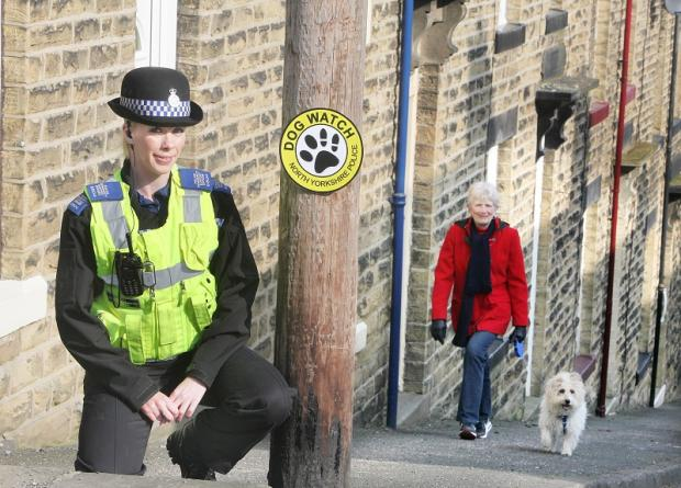 PCSO Sarah Hargreaves spearheads Craven's new Dog Watch
