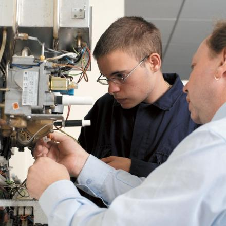 New figures reveal more teenagers are taking up apprenticeships and further education