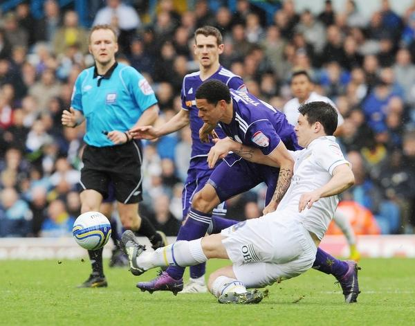 Darren O'Dea's sending off for two bookable offences hampered Leeds' push for an equaliser
