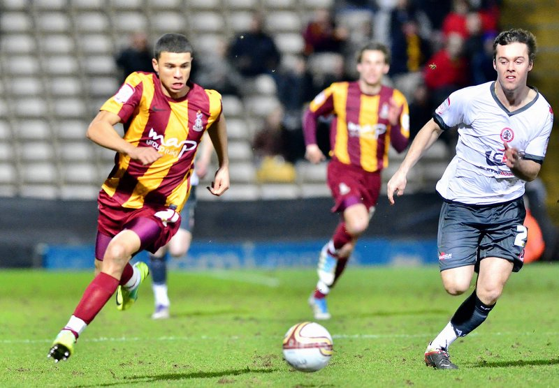 Nahki Wells, pictured, will benefit from playing every week at City, while jumping up the leagues too fast could hinder his progress, says Dean Windass