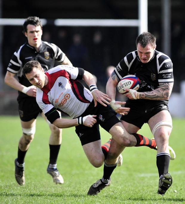Otley second row Simin Willet won't be able to play again until mid-December because of suspension