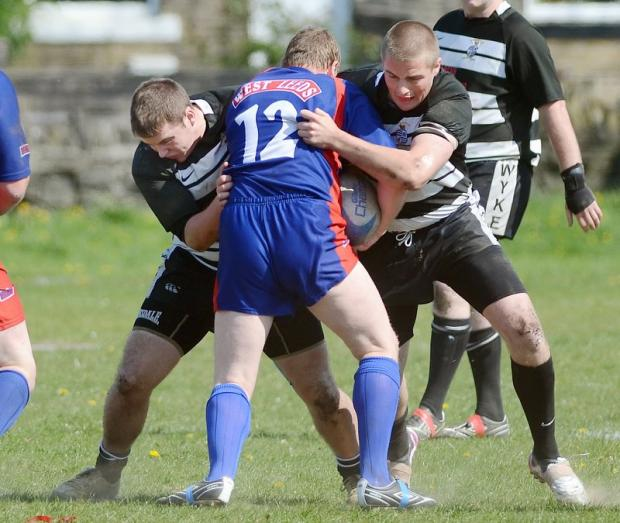 Ash Hutchinson further enhanced his reputation in a losing cause for Wyke