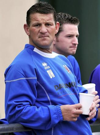 Dean Windass was at Valley Parade this afternoon to watch his son Josh play for City reserves