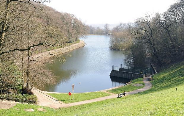 Chellow Dene Reservoir in Bradford