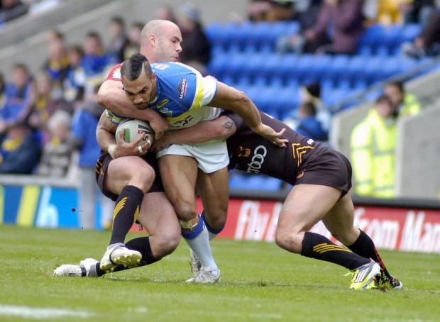Adrian Purtell suffered a recurrence of his hamstring strain against Warrington