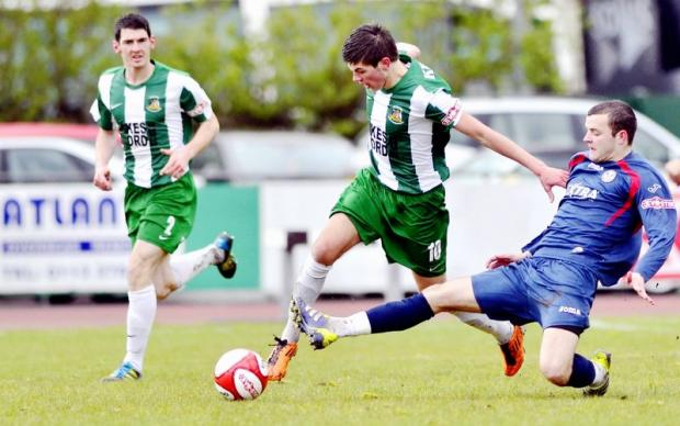 Jordan Deacey, the manager's son, excelled for Avenue during their 5-0 semi-final win against Hednesford