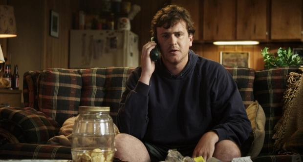 Jason Segal stars as layabout Jeff, whose life takes an unexpected twist in Jeff, Who Lives At Home