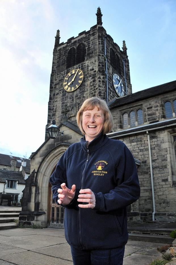 Bingley church bells ringing master Jane Lynch