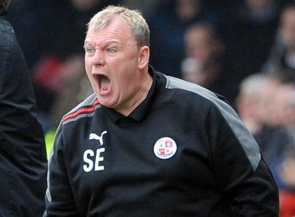 A complaint of alleged indecent behaviour has been lodged against Steve Evans