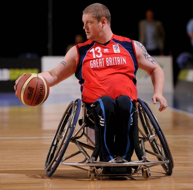 Peter Finbow is heading for his third Paralympics, having previously competed in Athens and Beijing