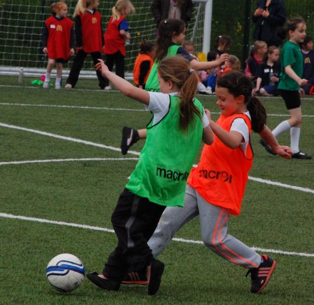 Interest at a local schools' event has led to Wyke Wanderers wanting to form an under-nine girls' team next season
