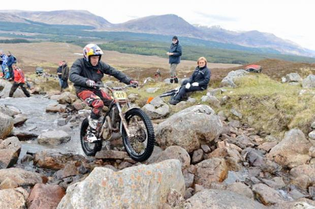Dougie Lampkin was moved by the tributes paid to him by his FIM World Trials rivals