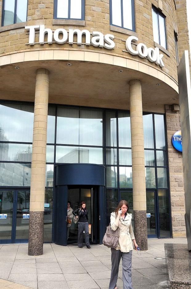 The Thomas Cook base in Bradford