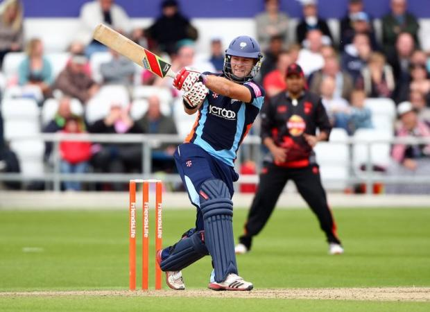 David Miller hit five fours and six sixes in his quickfire 74 not out