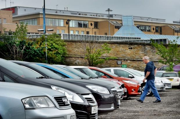The Crown Court car park in Bradford city centre