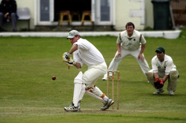 Steve Welch anchored the Cullingworth reply at home to Long Lee with 68 not out