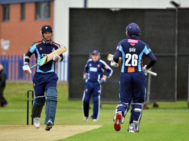 Phil Jaques, seen batting for Yorkshire in a Twenty20 warm-up game at Cleckheaton, doesn't want to miss out on the Champions League again