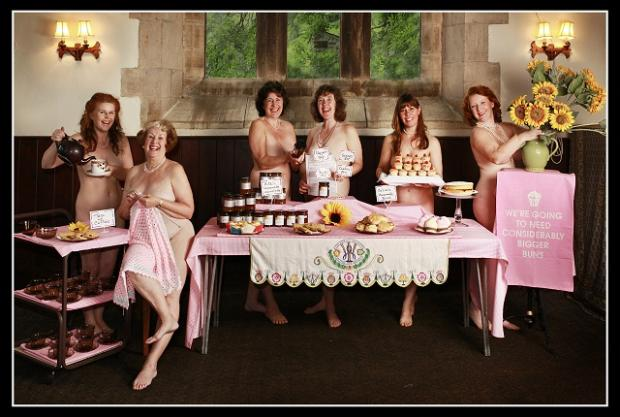 Grassington Players are ready to perform the Calendar Girls in August