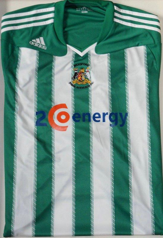 Bradford Park Avenue Unveil New Home And Away Kits