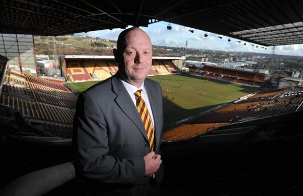 Dave Baldwin says the improvement work to the pitch at Valley Parade is money well spent