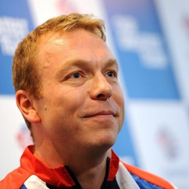 Sir Chris Hoy was chosen by fellow members of Team GB to carry the flag at the opening ceremony